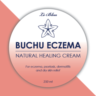 Le Bleu Buchu Eczema Natural Healing Cream 250 ml