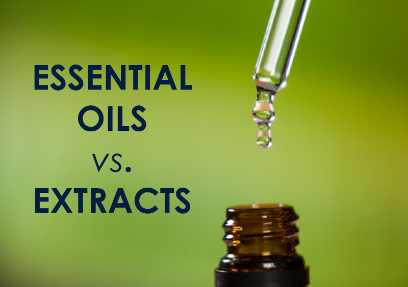 Essential Oils vs Extracts