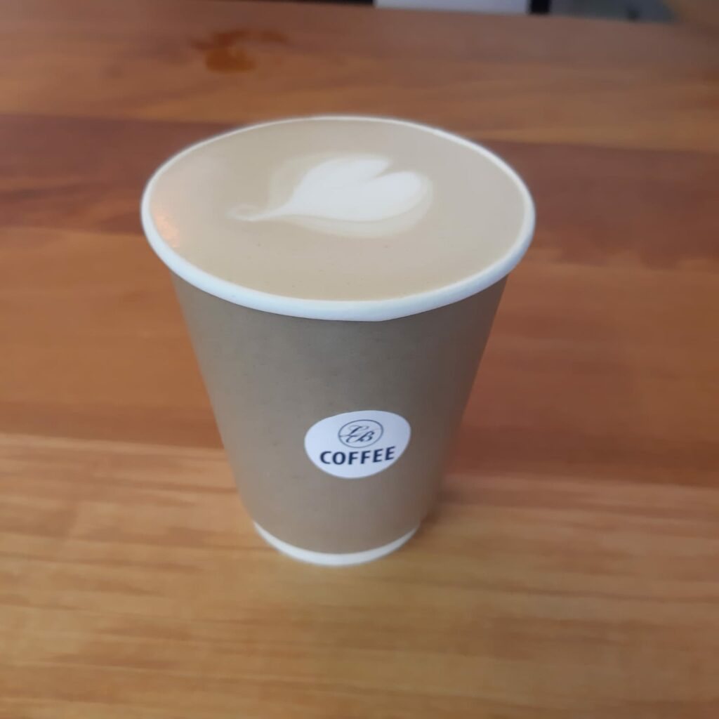 Le Bleu Coffee made with love